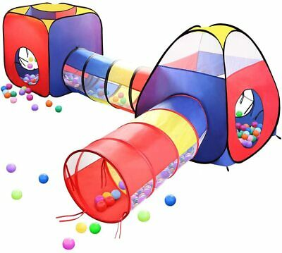 Play Tents Ball Pits, EocuSun 4 in 1 Pop Up Children Toddler