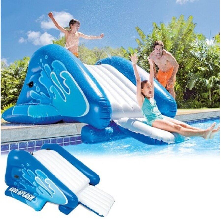 Intex Wasserrutsche für Pool mit Rutsche Kinder Plansc… |