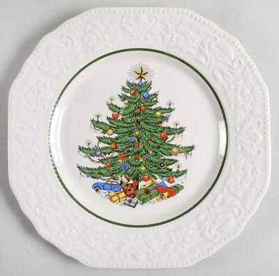 Cuthbertson DICKENS EMBOSSED CHRISTMAS (CREAM) Dinner Plate 1157210 ()