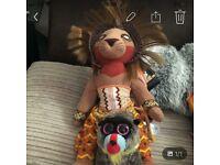 Lion king teddy's