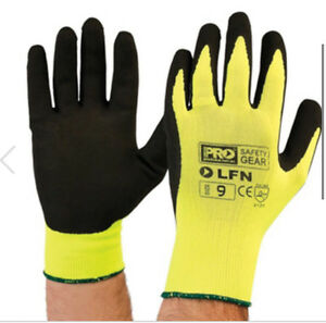 PRO HIGH VIST SAFETY GLOVES Seven Hills Blacktown Area Preview