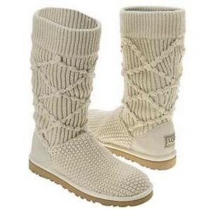 Woman's Knitted UGG's Boots