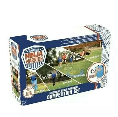 American Ninja Warrior Kids Adult Obstacle Course Kit Sport Competition Game -