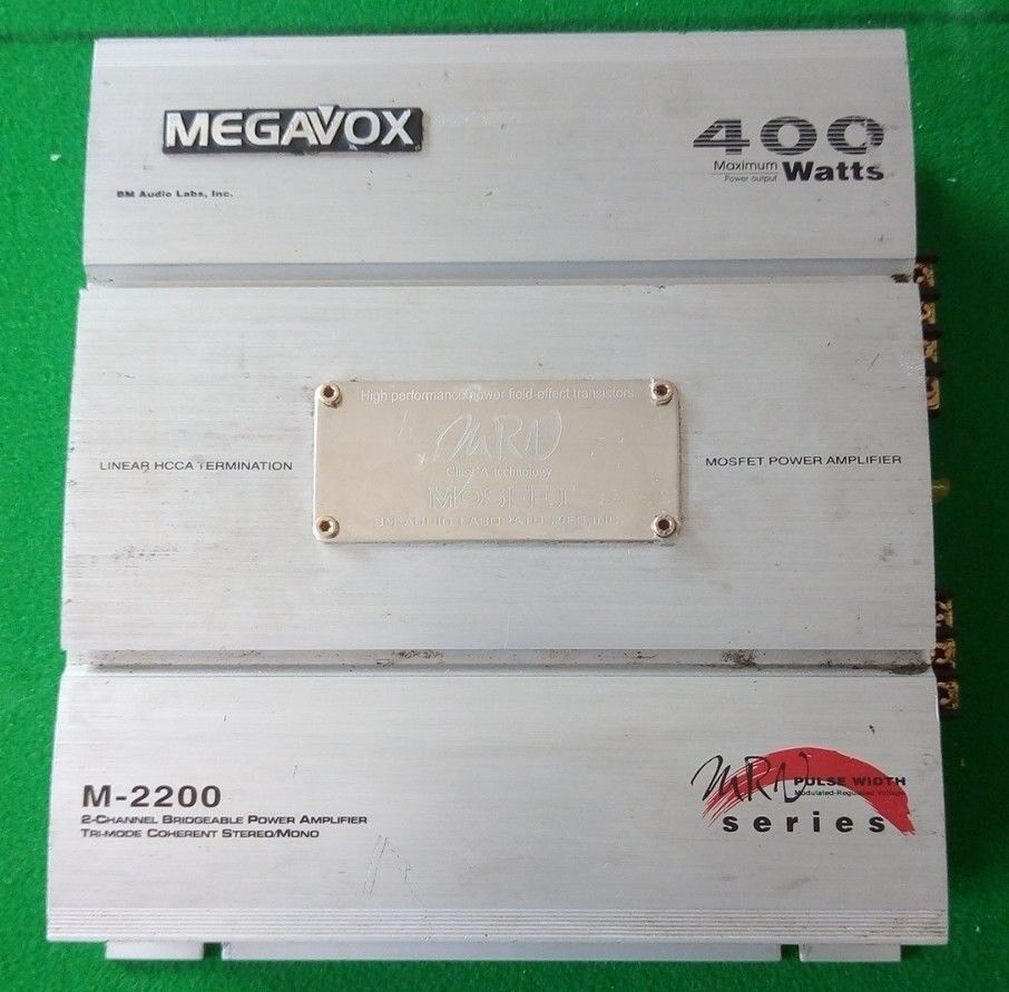 Megavox 400 Watt Heavy Duty Mosfet Class A Car Amplifier In 400w High Power
