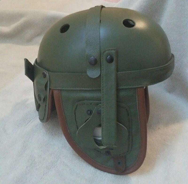 USA M1938 TANKER HELMET WWII US TANKER JEEP HELMET WORLD