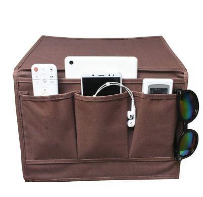 Arm Chair Organizer Armrest Remote Control Caddy Couch Pocket Holder Storage Set