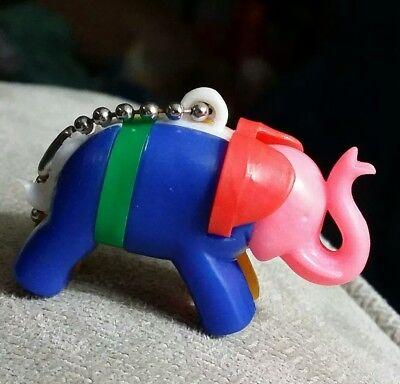 Vintage Elephant Puzzle Toy Keyring