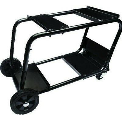 Universal Heavy Duty Steel Welding Cart Wire Fed Mig Welder Portable Storage 31