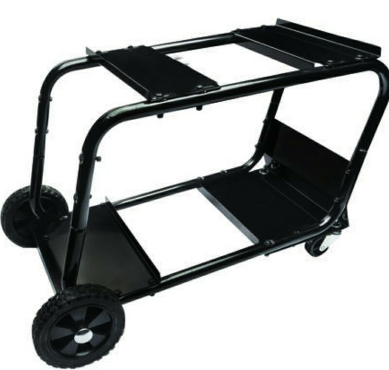 Universal Heavy Duty Steel Welding Cart Wire Fed Mig Welder Portable Storage 31""