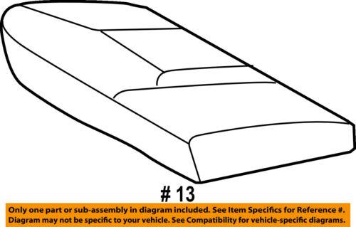 TOYOTA Genuine 71076-04030-B0 Seat Cushion Cover
