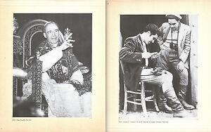 1949-PAPA-PACELLI-PIO-XII-1950-SALVATORE-GIULIANO-in-piedi-2-FOTO-RISTAMPA