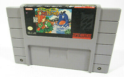 Super Mario World 2: Yoshi's Island - Super Nintendo (SNES) Authentic/Clean