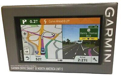 New Garmin DriveSmart 61 LMT-S GPS Navigation System - FREE SHIPPING!