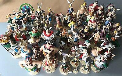Asterix und seine Welt Sammlung Figuren Plastoy Komlpett Obelix Idefix 70 Stück
