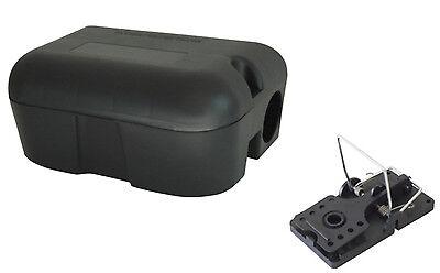rattenfalle mit k derbox rattenschlagfalle zur rattenbek mpfung schlagfalle ebay. Black Bedroom Furniture Sets. Home Design Ideas