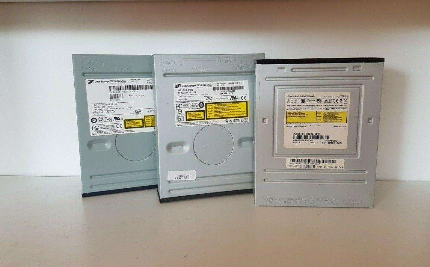 DVD CD Brenner Writer RW ROM Drive Laufwerk SATA IDE HL LG Sony HP NEC DELL div