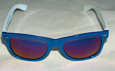 NEW Sauza Tequila Vintage Vuarnet Style Men's Blue & White (Tequila Sunglasses)