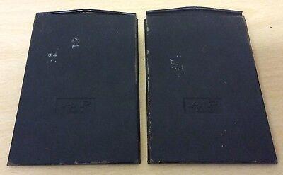 2 x AP Paris Plate Holders / Darkslides 13 x 9 cm