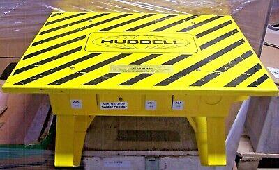 Hubbell Spider Power Distribution Box 50 Amp 120240 Vac Spider Feeder Sgfi-1pnb