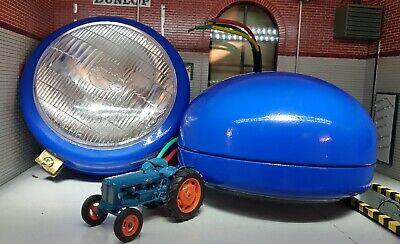 2 Ford Fordson Dexta Power Major Butlers Type Tractor Headlamps Headlights Units