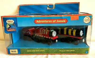 Adventures of James Wooden Railway Thomas And Friends 2007 Rare NIB