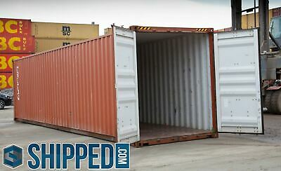 Used 40 Ft High Cube Shipping Containers For Home Business Storage Charlotte Nc