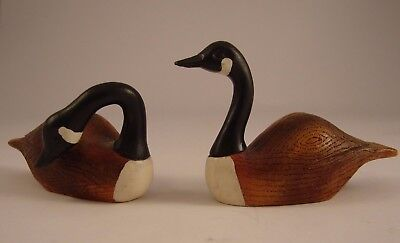 Miniature Canadian Geese The Boyds Collection Investment Collectibles Lot of 2