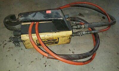 Fairmont Dynapress H6710b Hydraulic Intensifier Whose And Crimper 10000 Psi