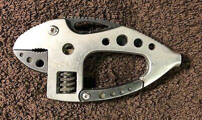 CRKT Guppie Multitool Wrench Knife Screwdriver Bottle Opener D-ring H 9070 Crkt Guppie Multi Tool