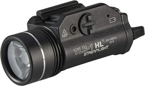 eStreamlight TLR-1 HL LED Gun Mount Flashlight 69260 800 lumens Black