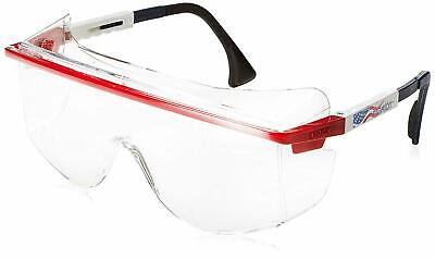 Uvex Astro S2530C OTG 3001 Safety FOR OVER YOUR RX Glasses Patriot Frame Clear