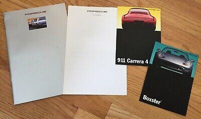 1993 Porsche 911 Carrera 4 / 928 / 968 / Boxster Dealer Advertising Booklets