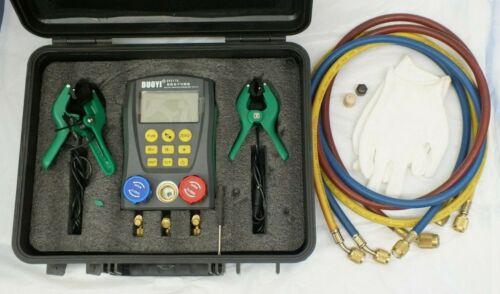 DUOYI DY517A Refrigeration Digital Manifold Gauge Tester HVAC Pressure DY517A