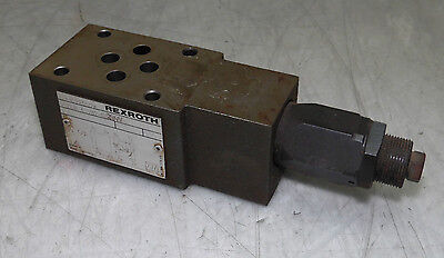 Rexroth Valve, ZDB 6 VB2-40/100V, Used, Warranty
