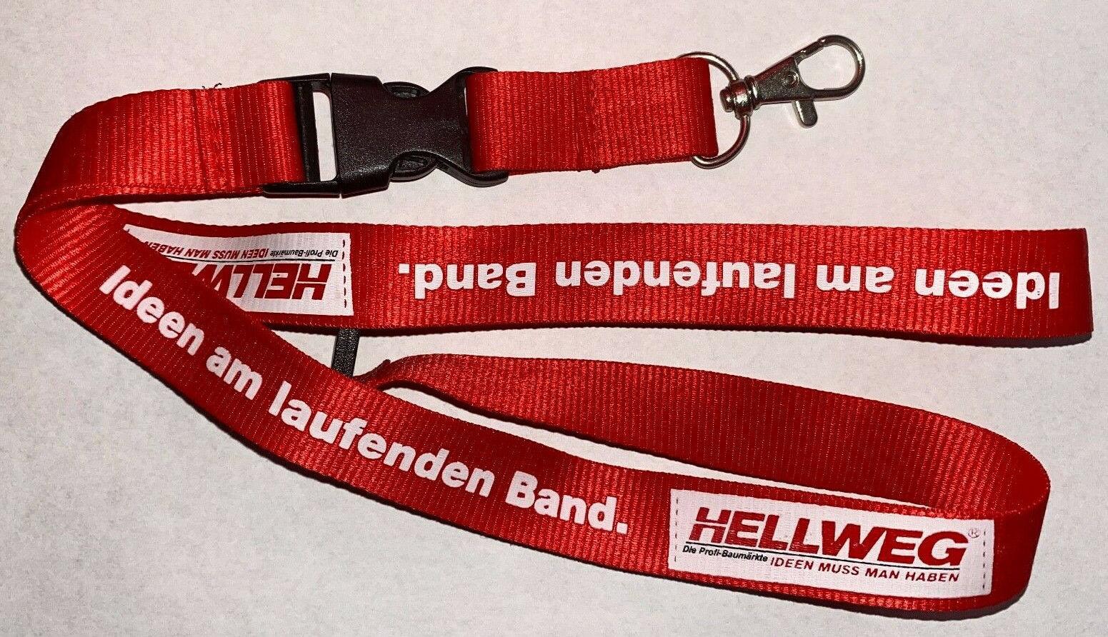 Hellweg Baumarkt Schlüsselband Lanyard NEU (E25)