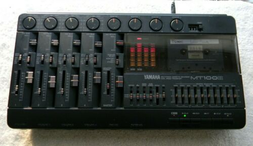 Yamaha MT100 ll Multitrack Cassette Recorder (Working) + Accessories