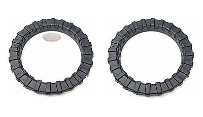 Bearmach Land Rover Discovery 2 Front Coil Spring Isolator Rings X2 RBC100111
