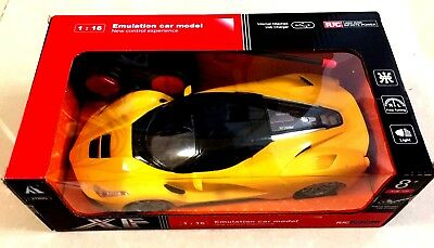 XF, RC,CAR 1:16 FERRARI REMOTE CONTROL CAR KIDS FUN TOY CHARGER VIA USB