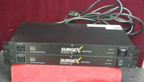 SurgeX SX1115-RT Advanced Series Mode Surge Eliminator Power Conditioner