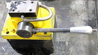 No Name 3951 1545 500 Lb Approx. Cap. Manual Magnetic Magnet Plate Lifting Unit