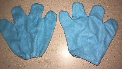 BOYS GIRLS blue BLUES CLUES style HALLOWEEN COSTUME GLOVES one size fits most CU - Halloween Blues Clues