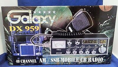 Galaxy DX-959 AM SSB CB Radio DX959 PRO TUNED AND ALIGNED