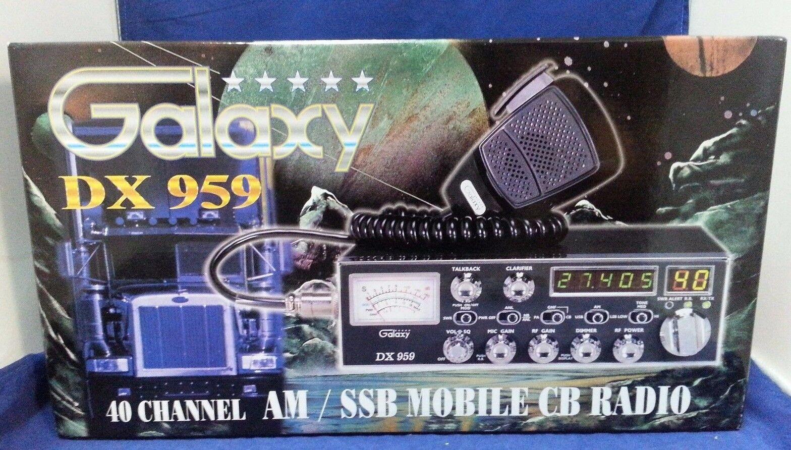 GALAXY DX-959-Blue Light Edition -Same As 959 + Blue lights