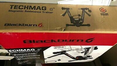 Blackburn Tech Mag 6 Magnetic Resistance Bicycle Bike Trainer Indoor, ships free
