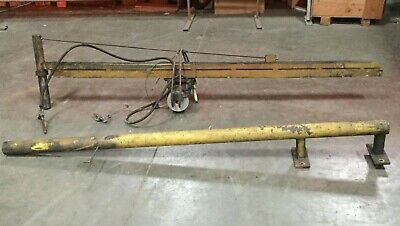 G.w. Murphy Industries Zin-air Wall Mount Jib Crane With 14 Ton Hoist