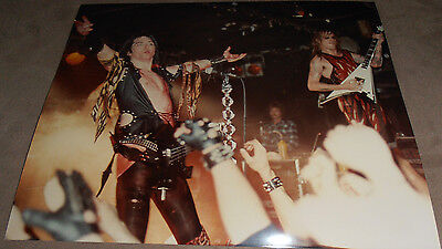 WASP  BLACKIE LAWLESS     1  original 8X10 in.  Photo