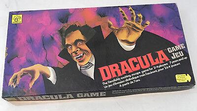 Vintage House of Games Dracula Board Game w Mask Jeu Waddington Canada Halloween