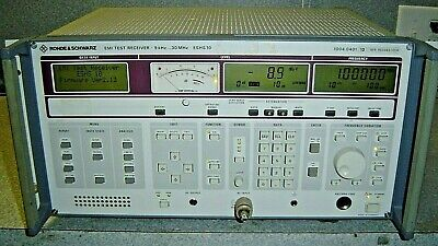 Rohde Schwarz Emi Test Receiver Eshs10 9khz-30mhz Eshs 10