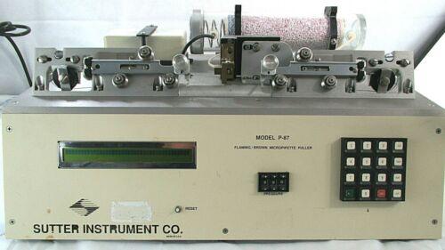Sutter Instruments P-87 Flaming/Brown Micropipette Puller~PARTS/REPAIR