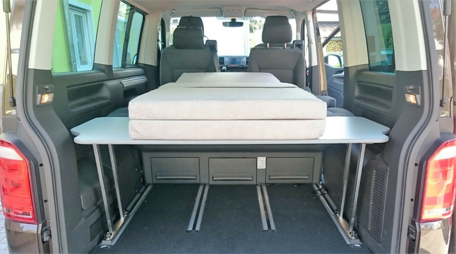 vw t5 t6 multiflexboard konsolen t st ck auflage matratze eur 449 00 picclick de. Black Bedroom Furniture Sets. Home Design Ideas